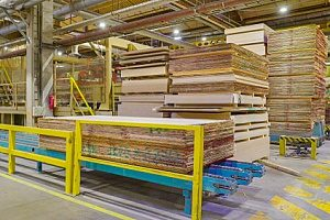 cca plywood in a factory