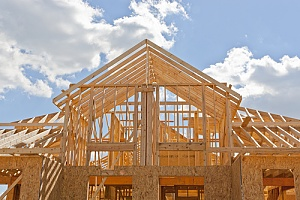Wood used in home building