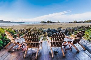 southern yellow pine plywood outdoor patio furniture with a view