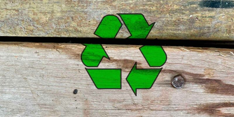 Green Building Materials- Wood Recycling