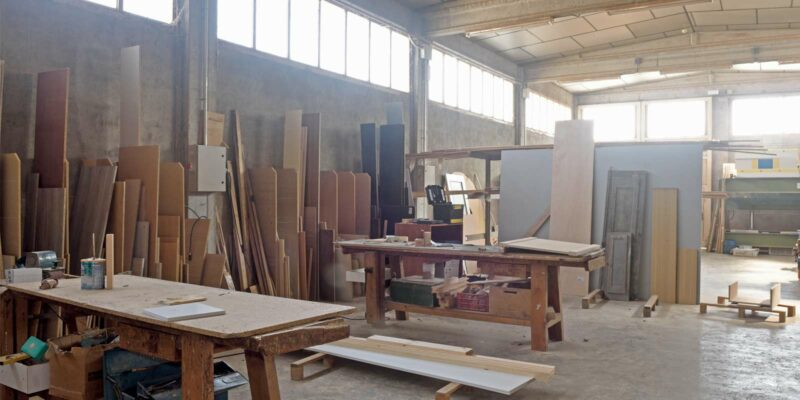 a wood shop that sourced its wood from a Northern Virginia wholesale lumber supplier