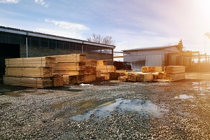 lumber logs boards and beams basic building material