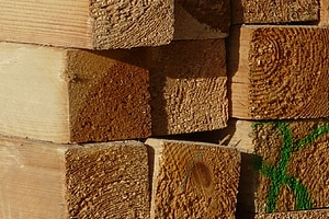good quality wholesale lumber supplier stored in godown